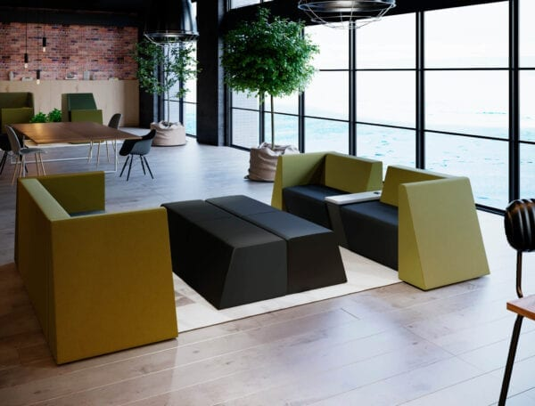 modular seating in office