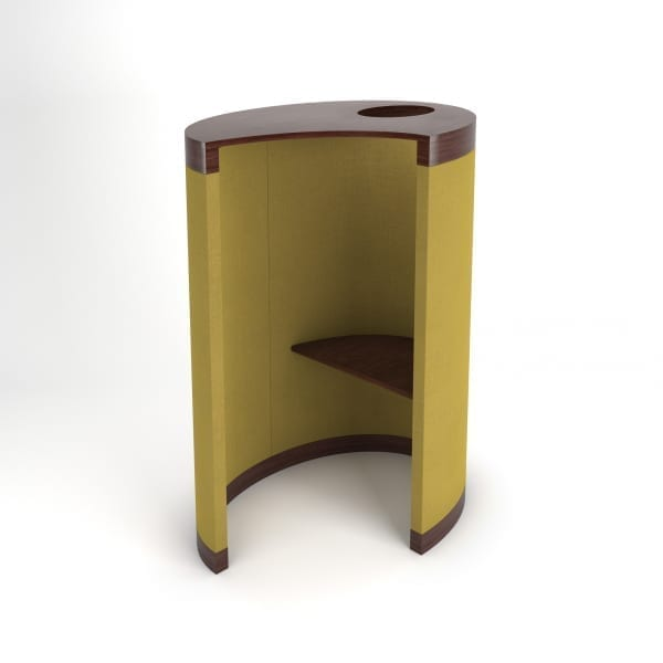 yingyang seating pod with desk