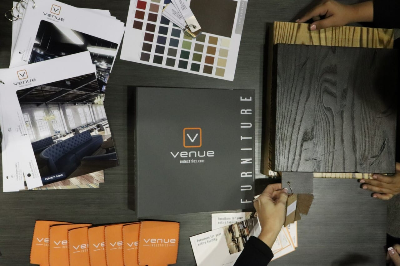 venue industries color swatching