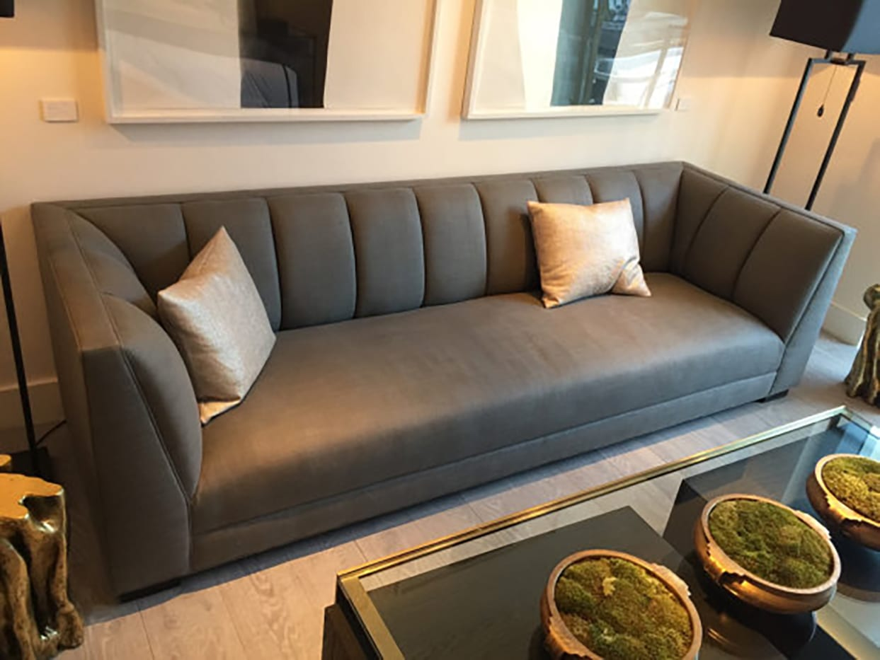 gray couch for inspiration photo