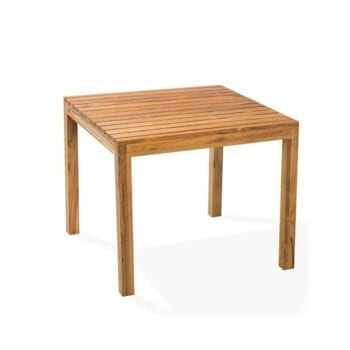 outdoor teak wood dining table